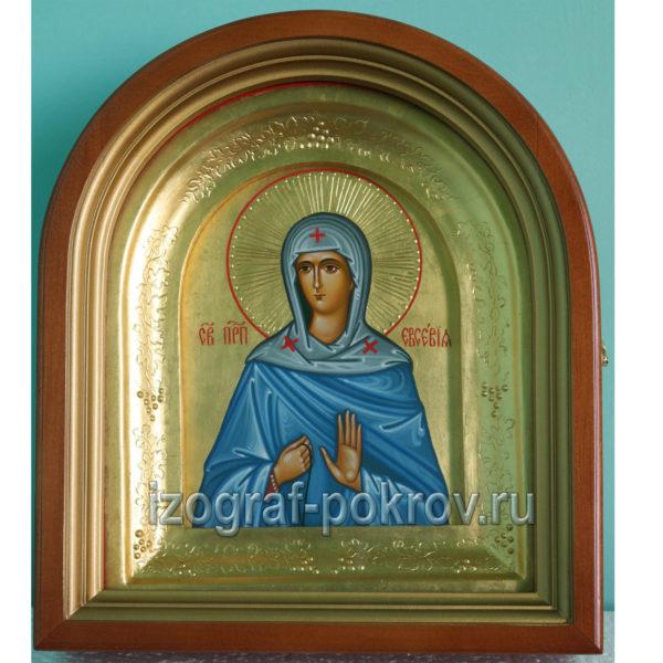 Икона в киоте Евсевия Ксения