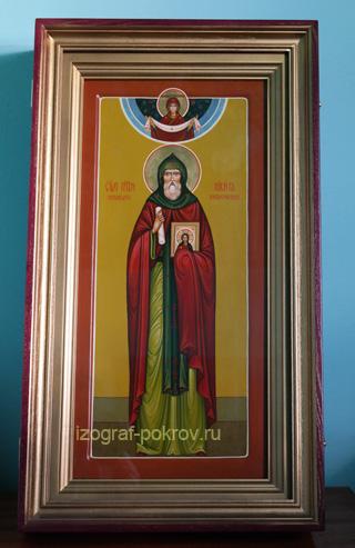 Мерная икона в киоте