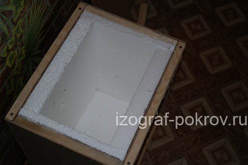 Упаковка икон в киотах