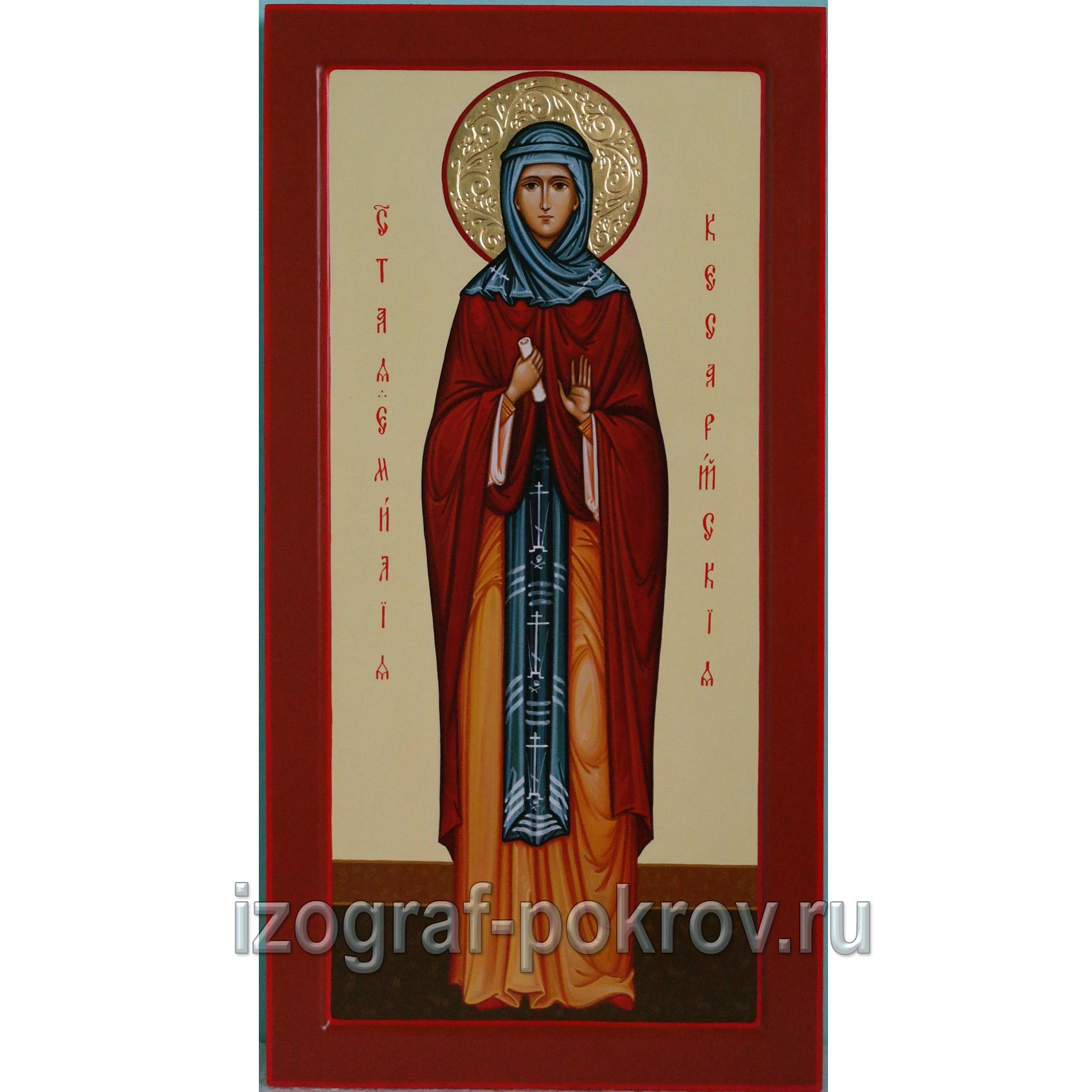 Мерная икона Емилия Кесарийская Каппадокийская. Заказать