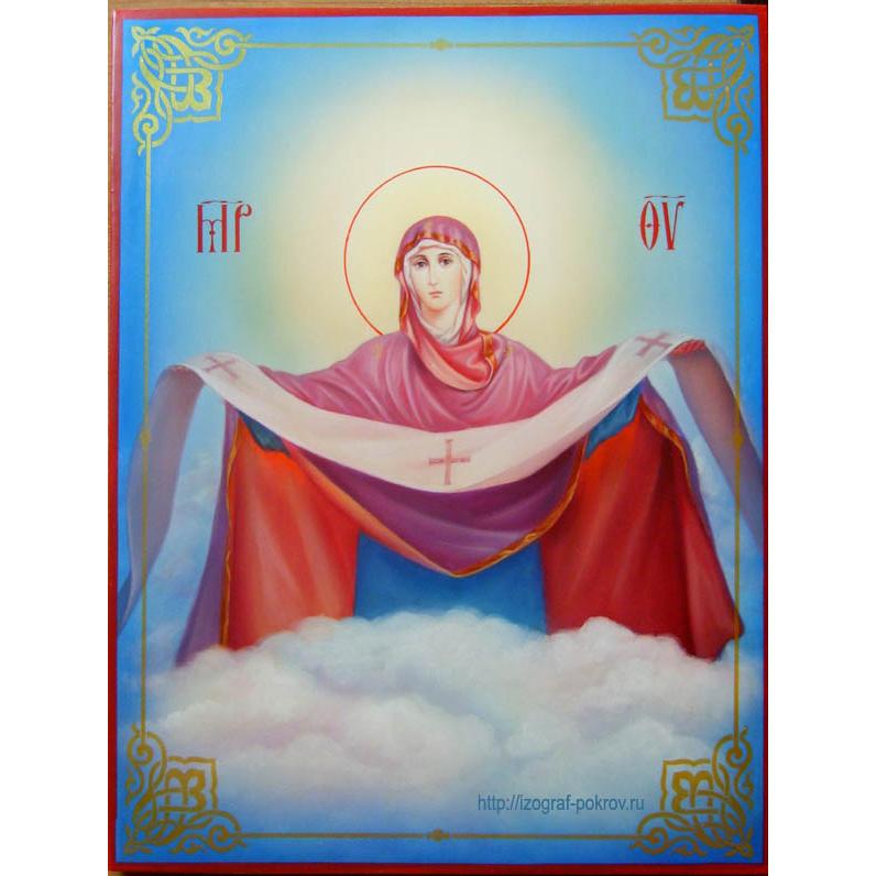 отзыв Покров Пресвятой Богородицы икона