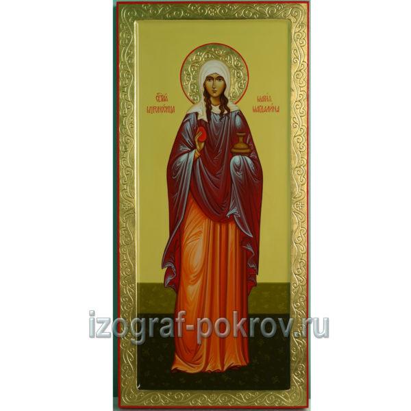 Мерная икона ручной работы Мария Магдалина