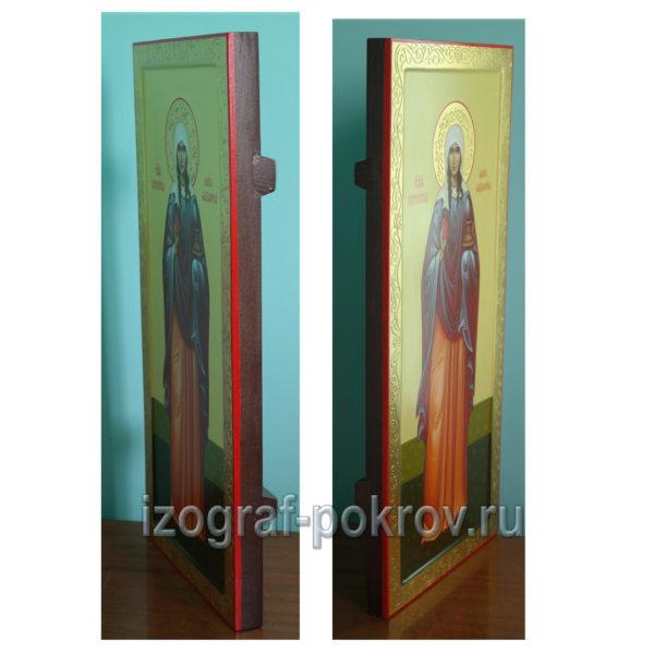 Икона Мария Магдалина вид сбоку