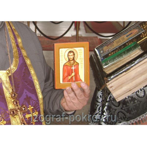 икона Роман Карпенисийский маленькая