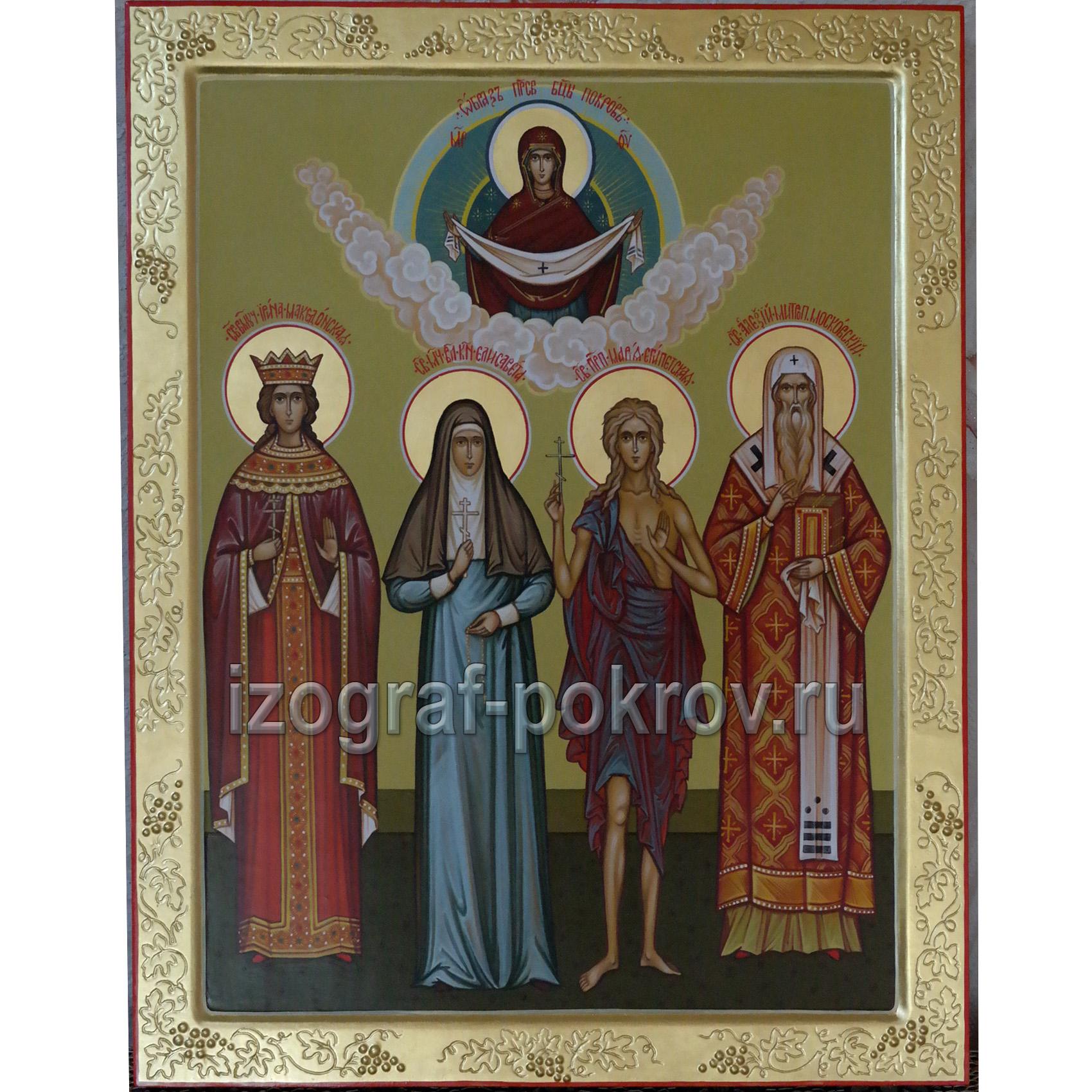 икона семейная 4 святых для семьи