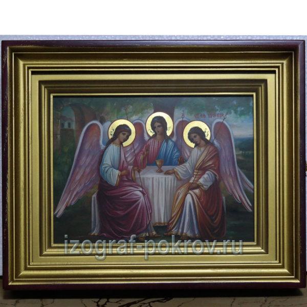 Икона Троица в закрытом киоте