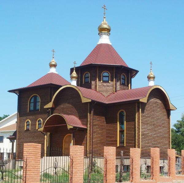 """Храм в честь иконы Божией Матери """"Всех скорбящих радость"""""""