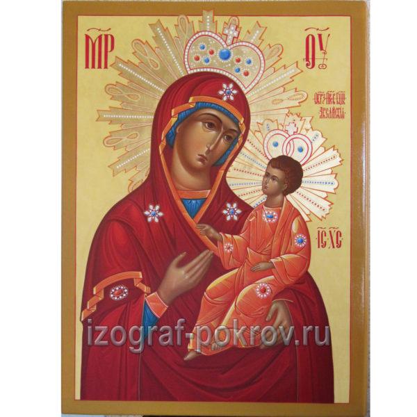 Икона Одигитрия Аксайская Богородица