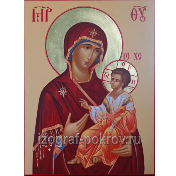 Деисус - икона Казанской Божией Матери