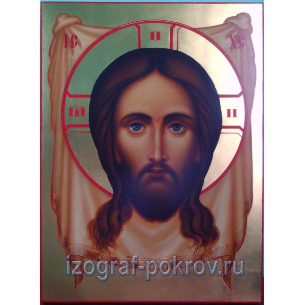Икона Спас Нерукотворный на золоте