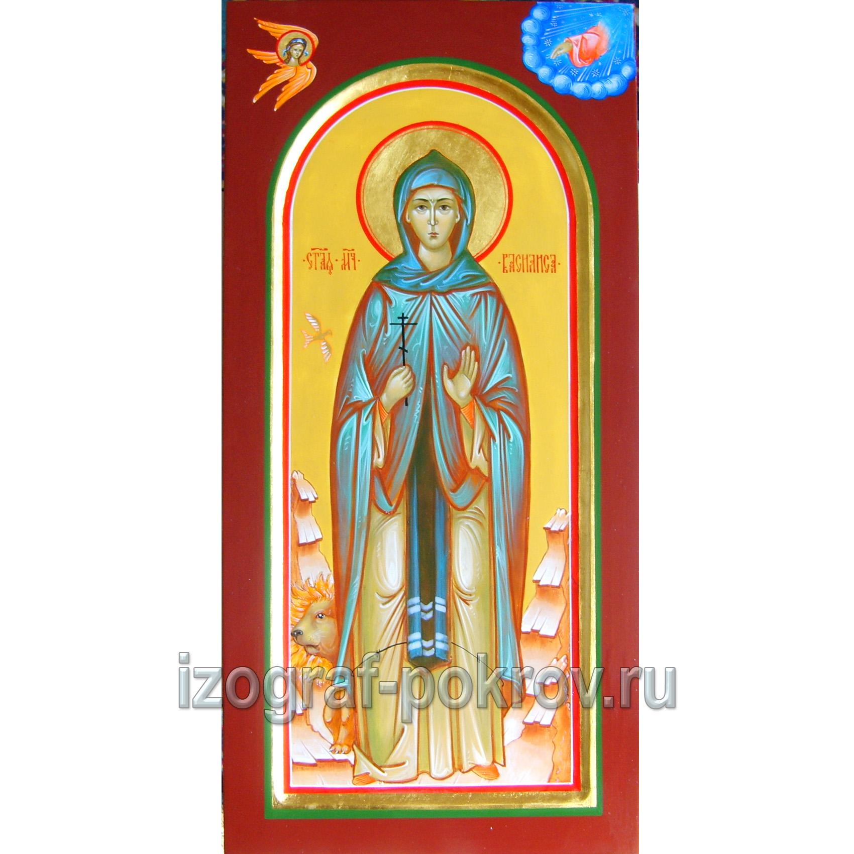 Мерная икона Василиса Египетская