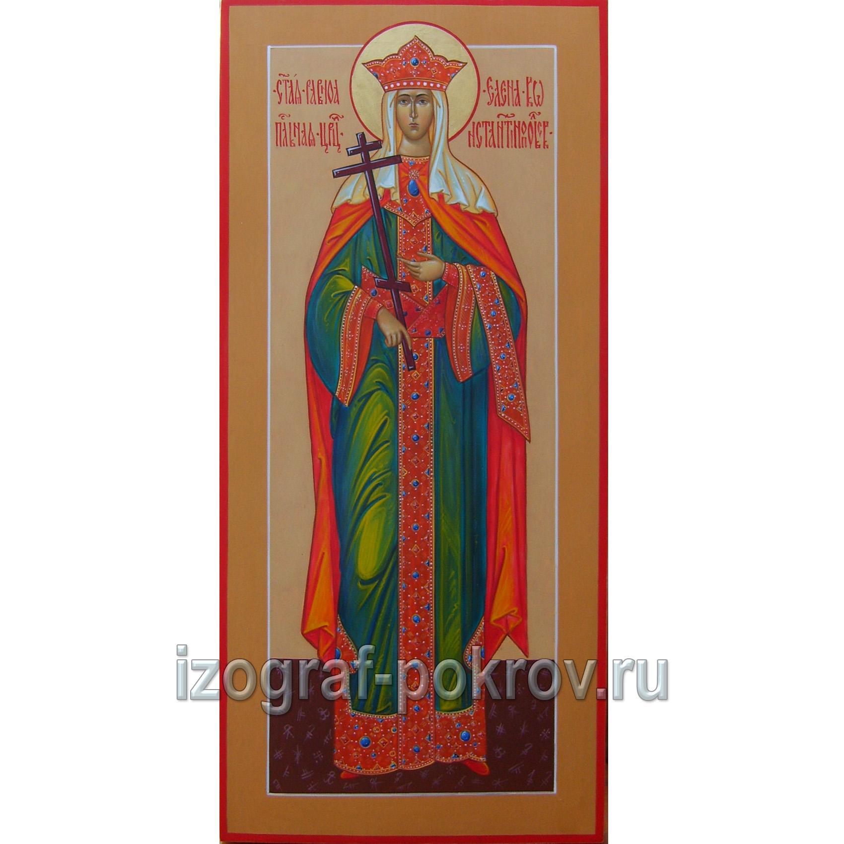 Мерная икона Елена Константинопольская царица равноапостольная