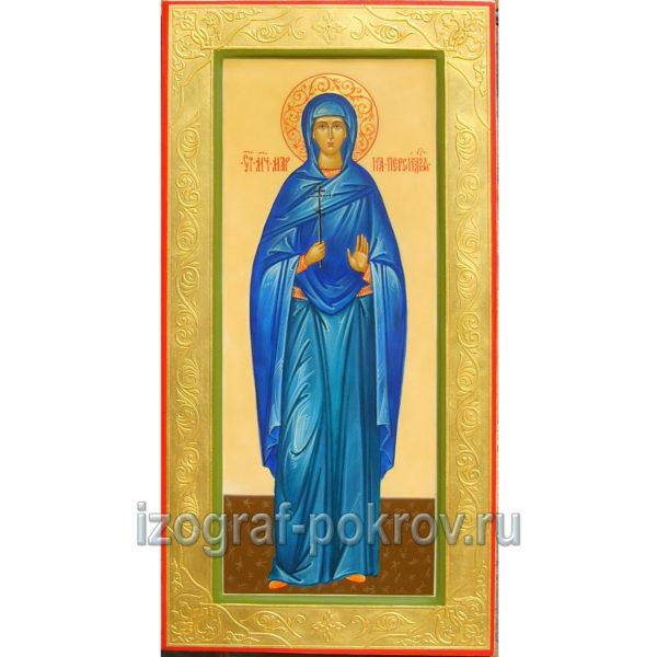 Мерная икона мученица Мария Персидская