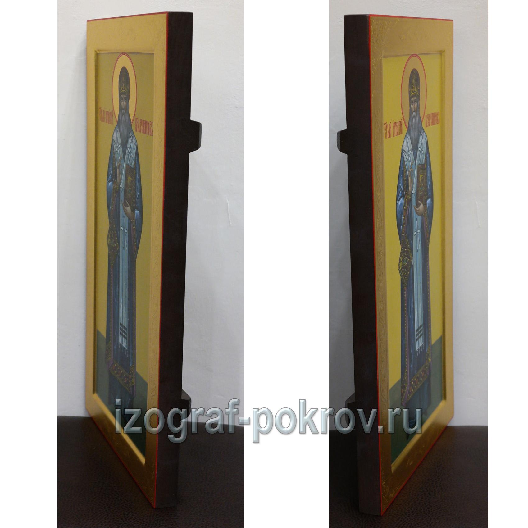 Икона Игнатий Бранчанинов вид сбоку