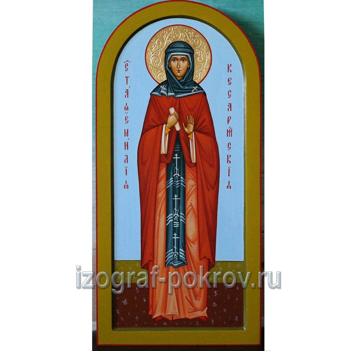 Икона Емилия Кесарийская Каппадокийская