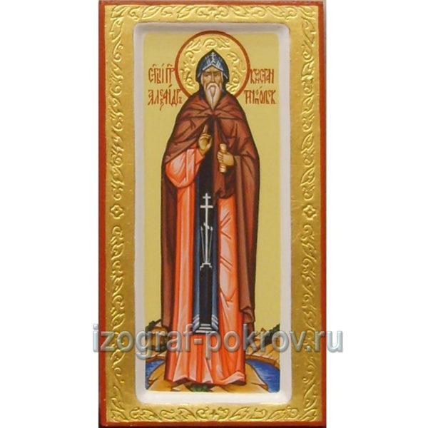 Икона Александр Константинопольский изготовлена под заказ в Иконописной мастерской Покров при храме Покрова Пресвятой Богородицы