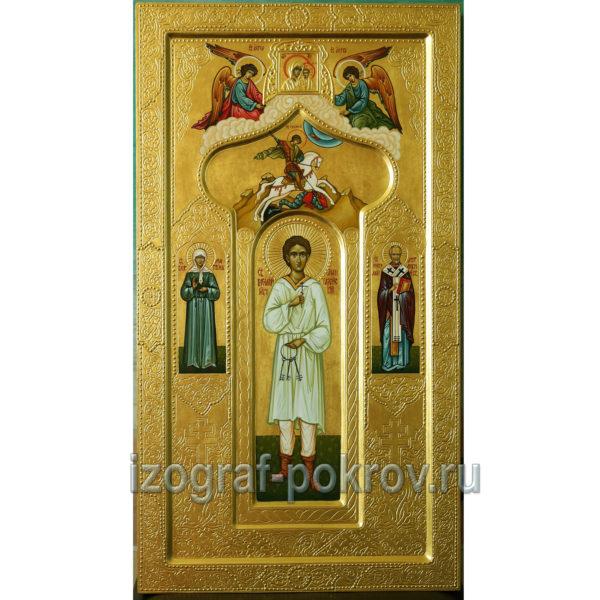 Мерная икона Василий Мангазейкий мученик . Иконописная мастерская Покров при Свято-Покровском храме