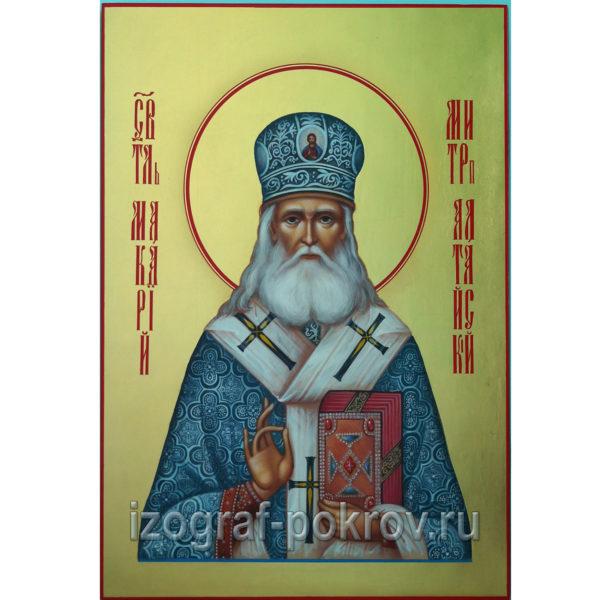 Икона Макарий Алтайский Святитель