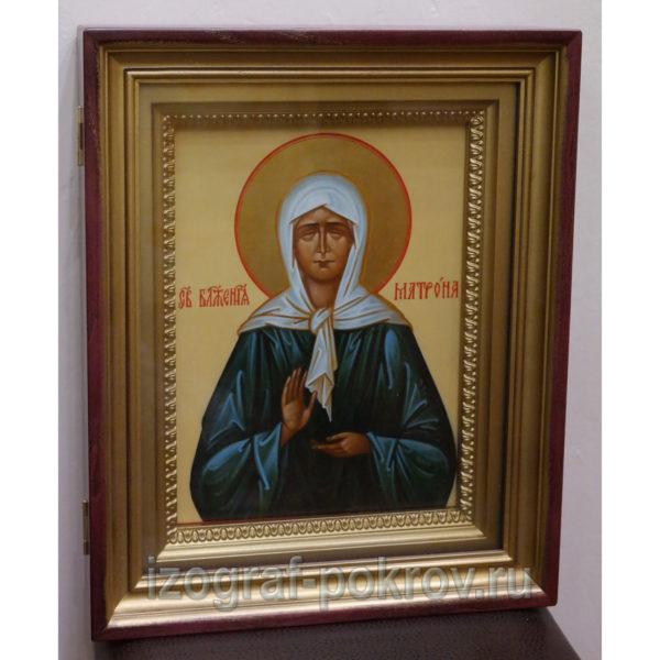 икона Матрона Московская в киоте