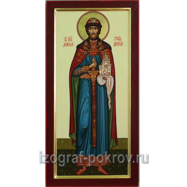 Мерная икона Дмитрий Донской Lvbnhbq Ljycrjq