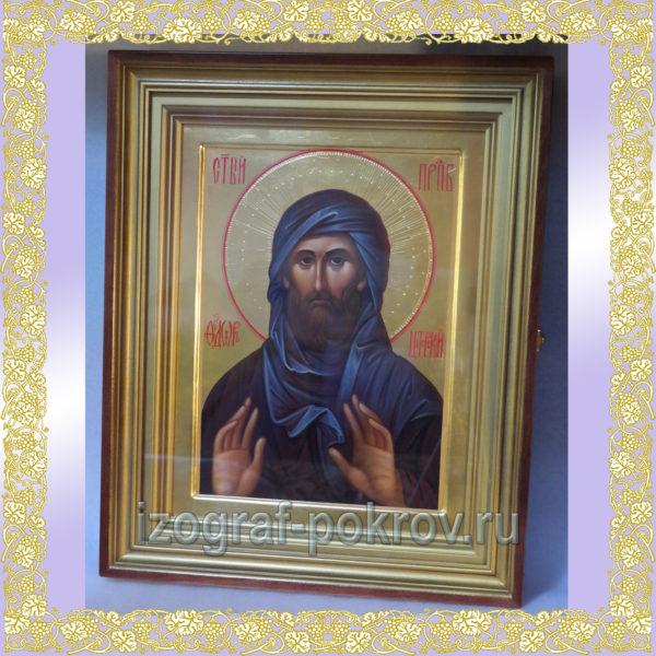 Икона Феодор Цитерский в киоте