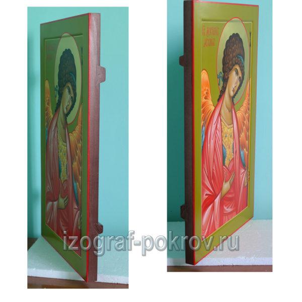 Икона Архангел Михаил (Архистратига) для храма вид сбоку