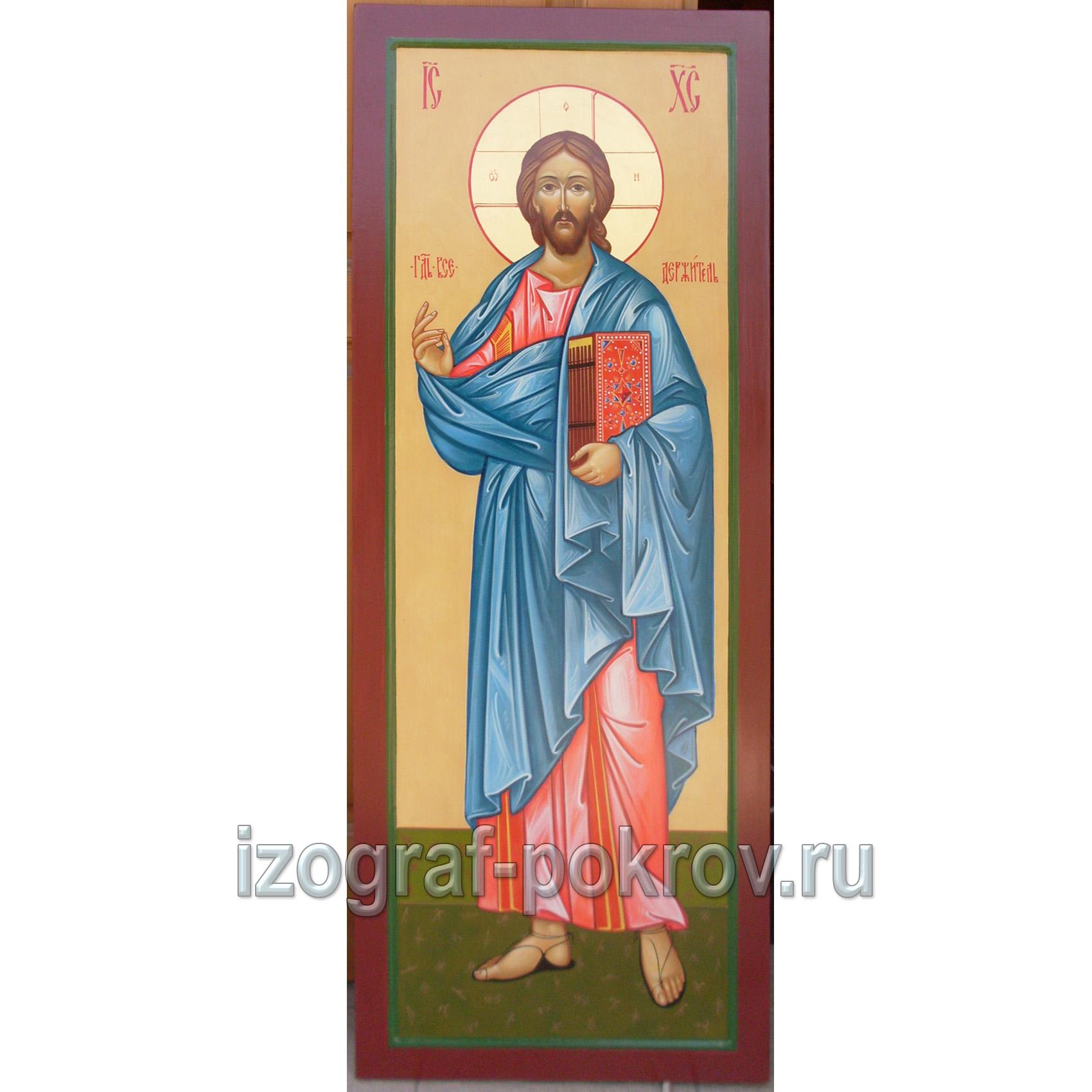 Икона в иконостас Господь Вседержитель
