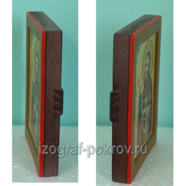 Константин Юрганов икона вид с боку