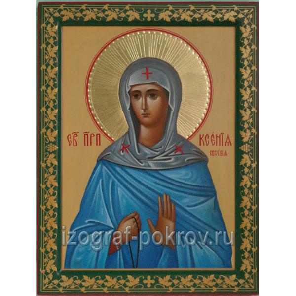 Икона Ксения (в миру Евсевия) Миласская преподобная Rctybz