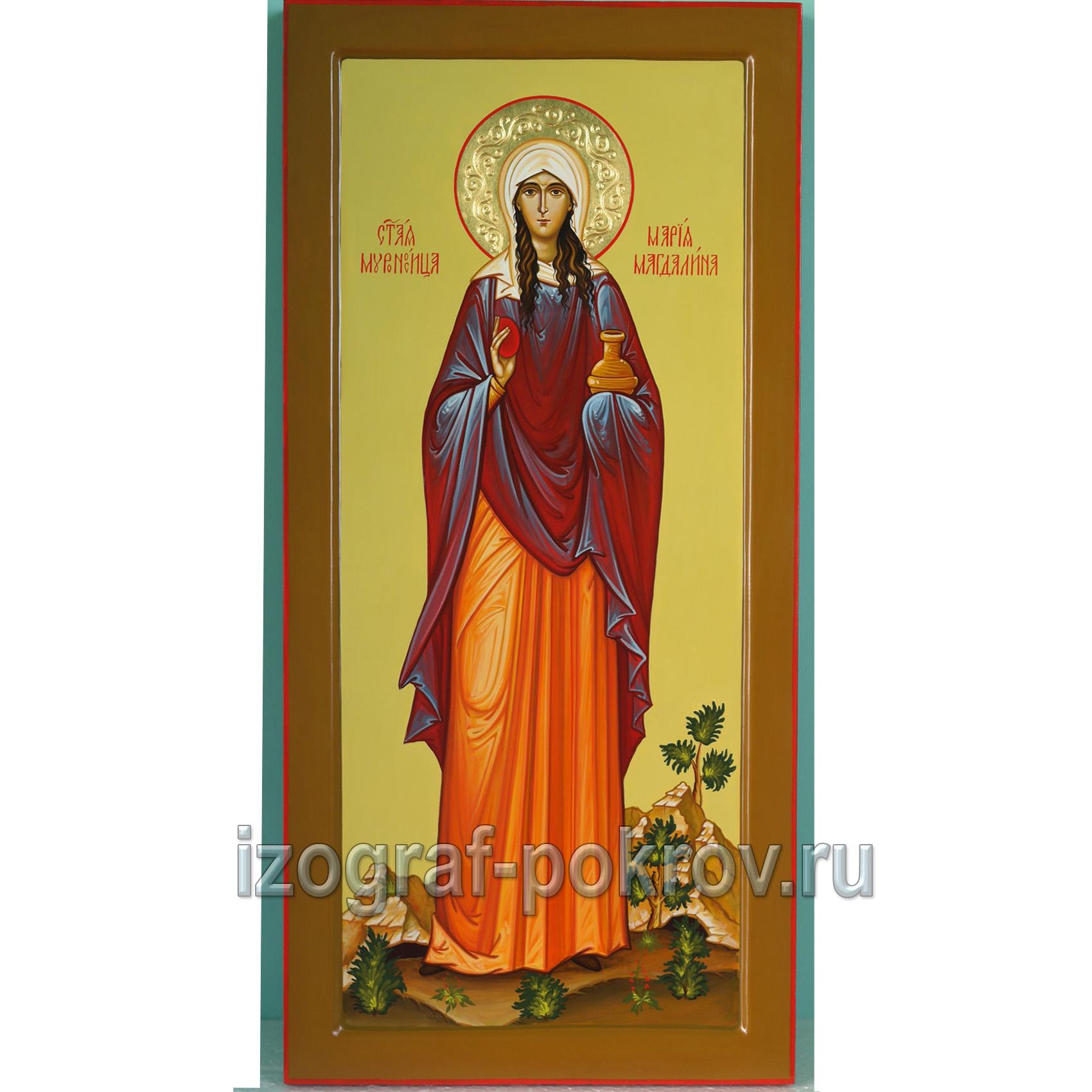 Икона мерная Мария Магдалина для младенца