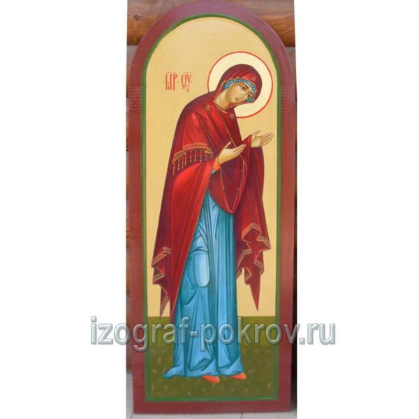 Икона в иконостас Образ Божией Матери