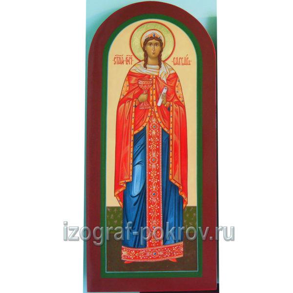 Икона мерная ручной работы Варвара Илиопольская