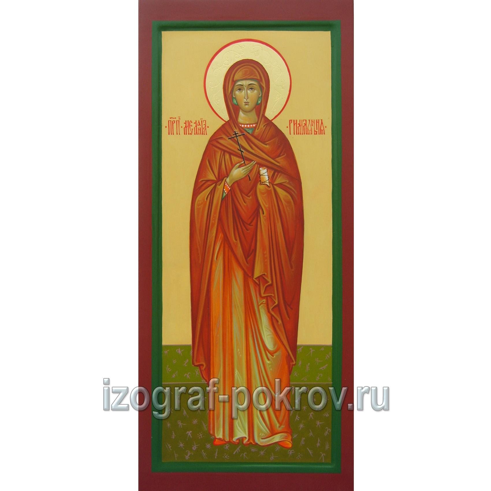 Мерная икона св. Мелания Римляныня