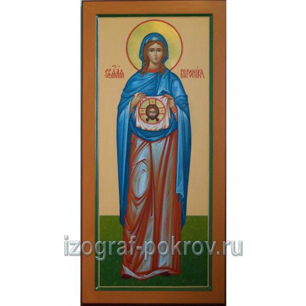 Мерная икона Вероника с иконой Спаса