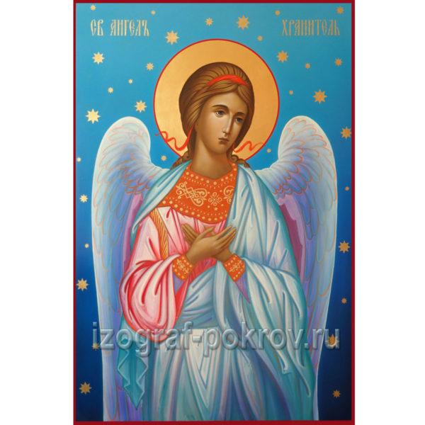 Икона Ангел Хранитель в иконописной мастерской Покров г. Константиновск